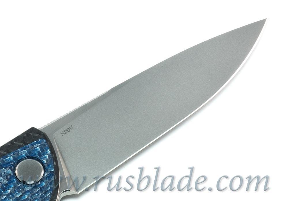 CUSTOM Shirogorov F3 Blue CF S90V Custom Division - фотография