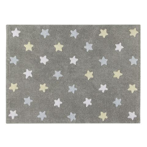 Ковер Lorena Canals Tricolor Stars Grey-Blue (120 x 160)