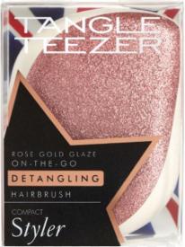 Tangle Teezer Compact Styler Rose Gold Glaze расческа для волос