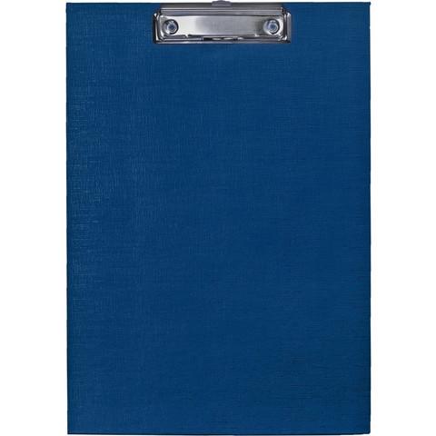 Папка-планшет Attache A4 картонная синяя без крышки