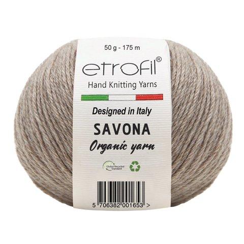 Savona ETROFIL (100% Переработанная органическая шерсть, 50 гр/175 м)