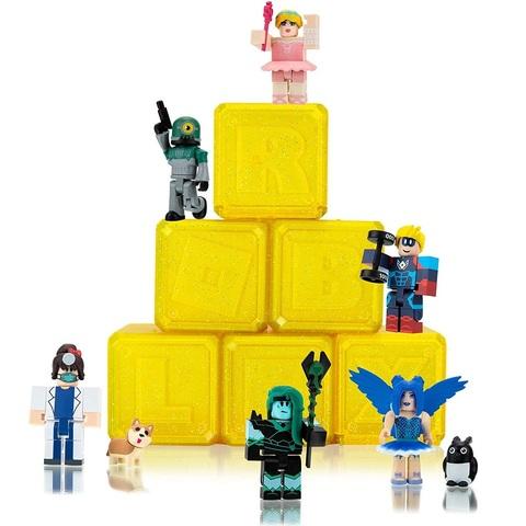 Роблокс Тайный набор Знаменитостей из 6 штук, серия 7 Лимонные