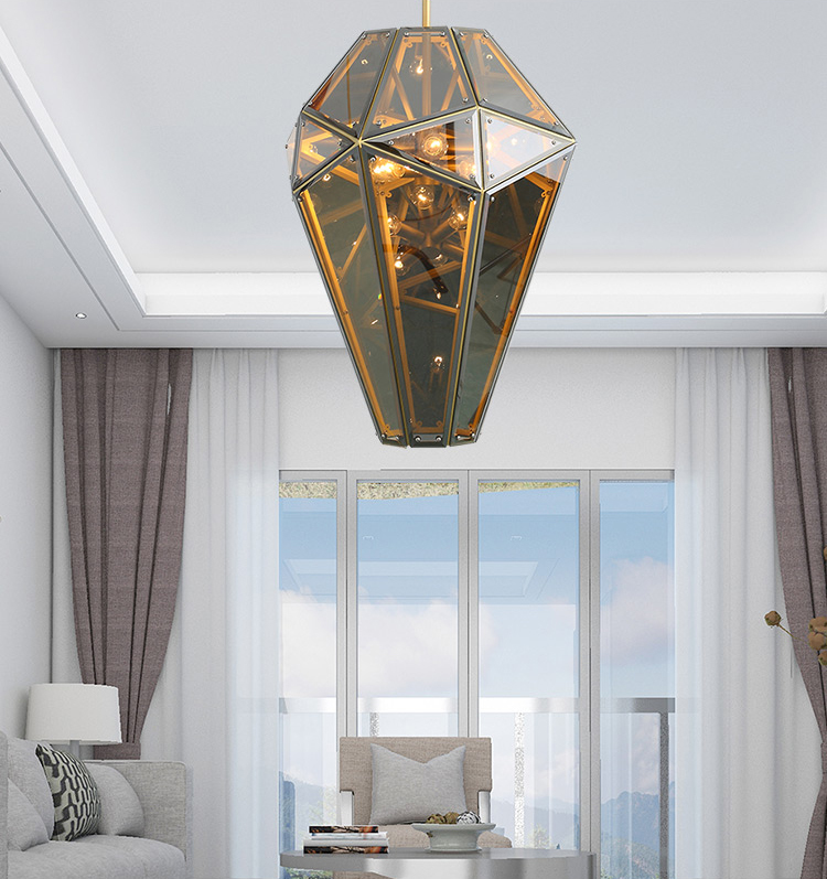 Потолочный светильник копия Empire by Lindsey Adelman (прозрачный)