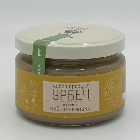 Урбеч из семян подсолнечника ЖИВОЙ ПРОДУКТ, 225 гр