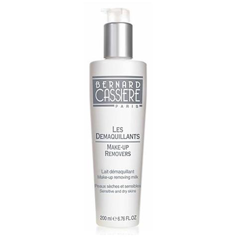 BERNARD CASSIERE Подготовительные средства для лица: Молочко для снятия макияжа для сухой и  чувствительной кожи, 200мл