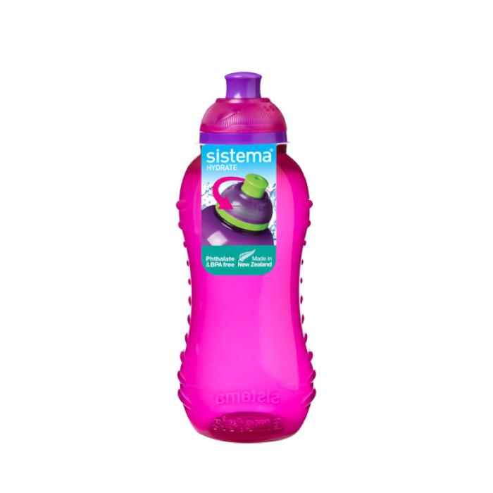 """Бутылка для воды Sistema """"Hydrate"""" 460 мл, цвет Розовый"""