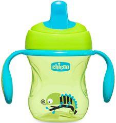 Chicco. Поильник Training Cup (полужесткий носик), 200 мл, 6+, зеленый