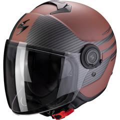 Мотошлем Scorpion EXO City Moda, коричневый