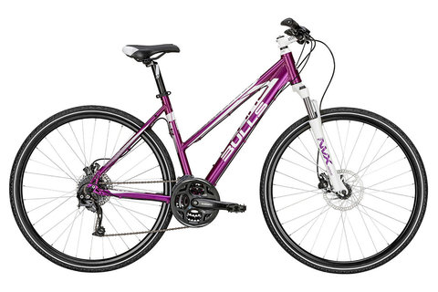 Bulls Cross Bike 2 Lady (2015) фиолетовый с белым