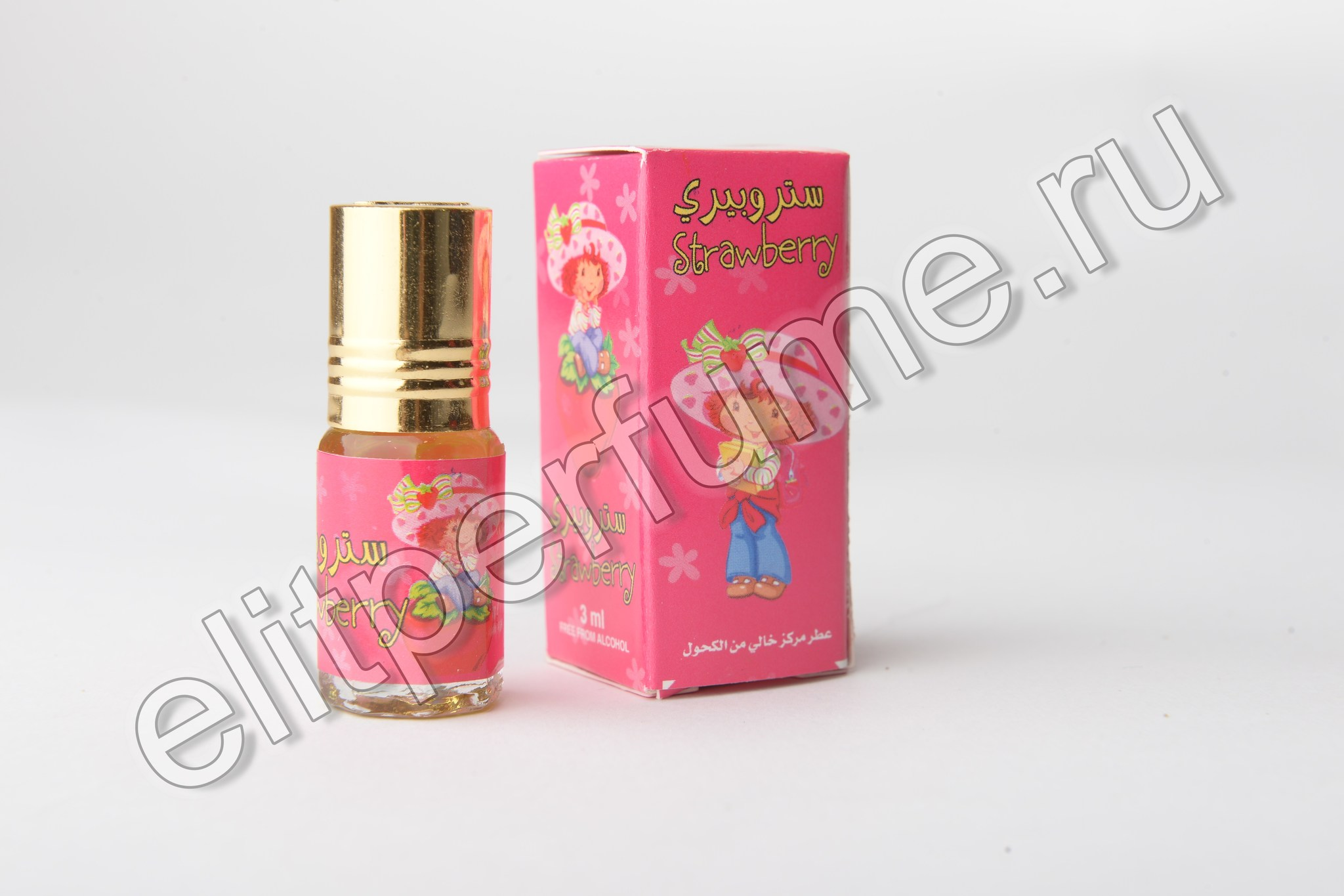 Strawberry 3 мл арабские масляные духи от Захра Zahra Perfumes