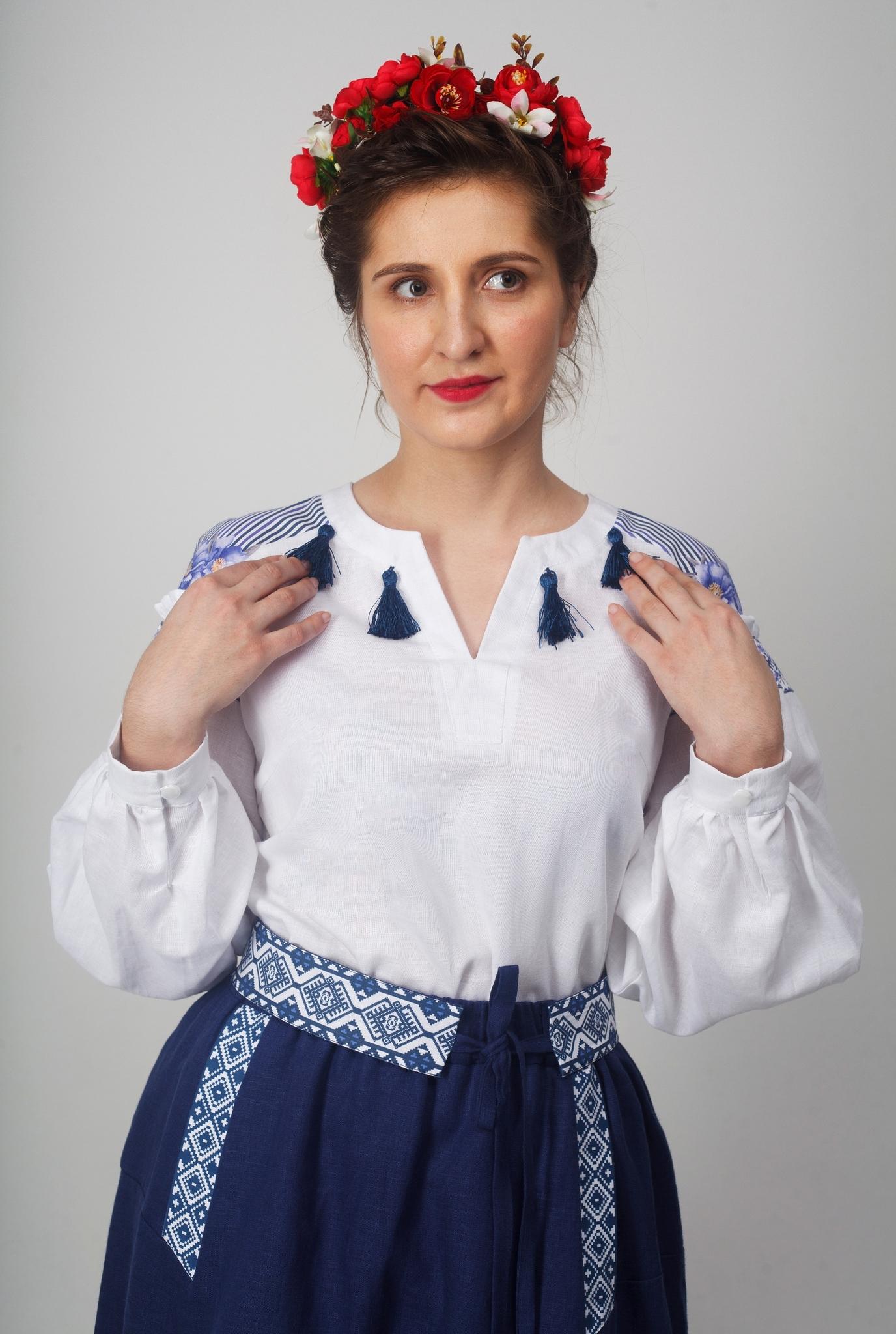 Блуза Дивная 01 спереди