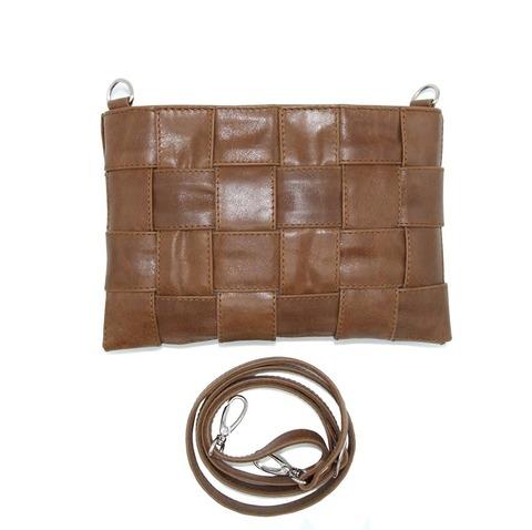 Плетеная кожаная сумка