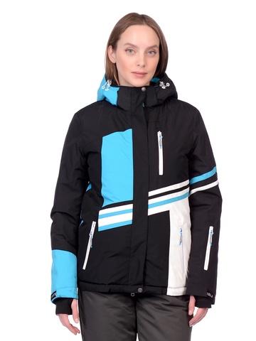 Горнолыжная женская куртка BATEBEILE голубого цвета.