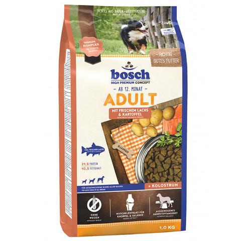 Bosch Adult сухой корм для собак с лососем и картофелем 1 кг