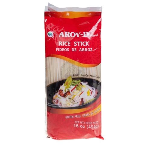 Лапша рисовая 3мм AROY-D 454 гр. купить в Москве