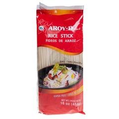 Лапша рисовая 3 мм AROY-D 454 гр.