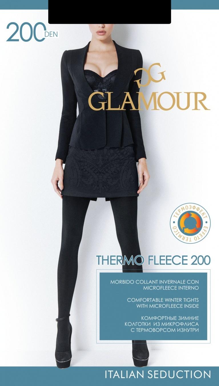 Glamour THERMO FLEECE 200 колготки женские