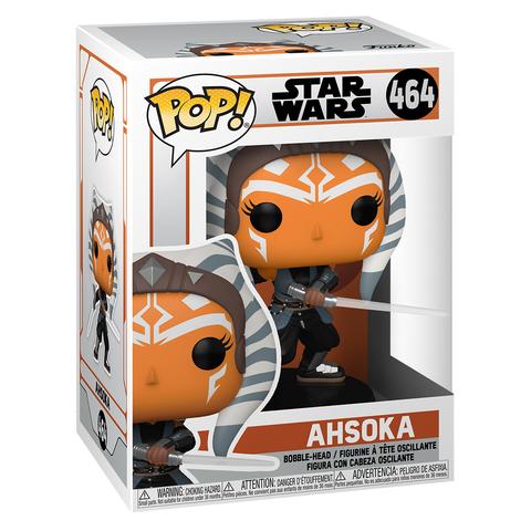 Фигурка Funko POP! Bobble Star Wars Mandalorian Ahsoka w/ Sabers 54527