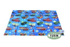 Складной детский коврик Тачки 4155