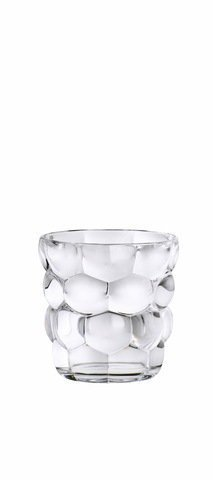 BUBBLES - Набор стаканов 4 шт. для воды 240 мл бессвинцовый хрусталь