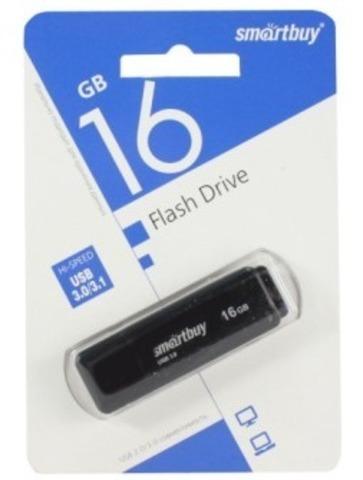 Флеш-накопитель USB 3.0  16GB  Smart Buy  LM05 черный
