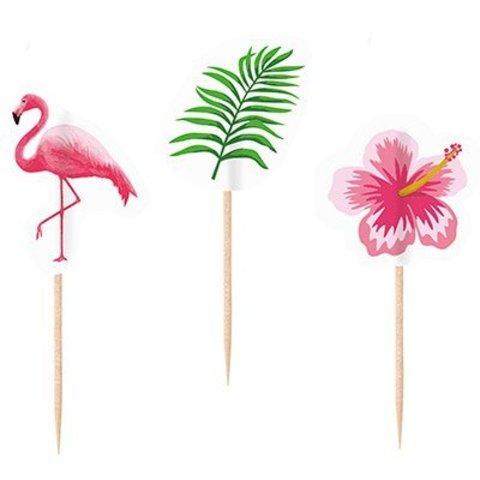 Пики для канапе Фламинго, 20 штук