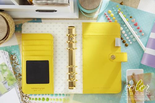Планер PERSONAL PLANNER Binder: Yellow  by Websters Pages (БЕЗ внутреннего наполнения)
