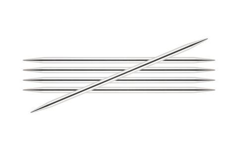 Спицы KnitPro Nova Metal чулочные 3,5 мм/15 см 10120