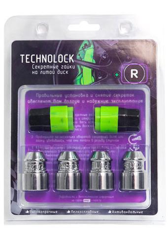 Готовый набор из колёсных гаек М12x1.25 и комплекта секреткок TECHNOLOCK R