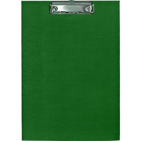 Папка-планшет Attache A4 картонная зеленая без крышки