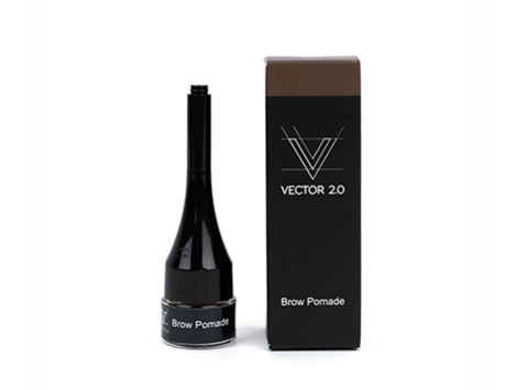 Помадка гелевая для бровей VECTOR 2.0 Dark Brown 2мл