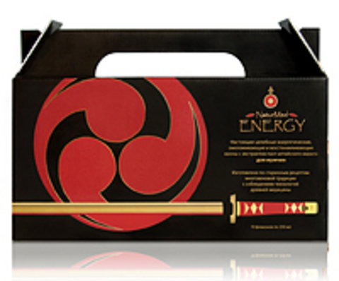 Раствор для приготовления ванн с экстрактом пант для мужчин с феромонами Naturmed Energy 10 фл по 250 мл НИИ Натуротерапии ТМ Натурмед