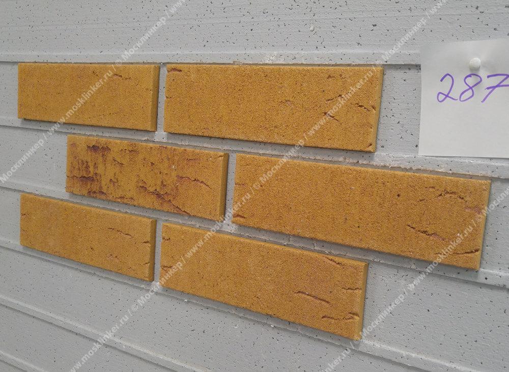 Feldhaus Klinker - R287NF9, Classic Amari Viva Rustico Aubergine, 240x9x71 - Клинкерная плитка для фасада и внутренней отделки