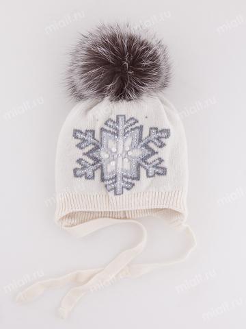 Зимняя шапка для девочки Mialt Карина