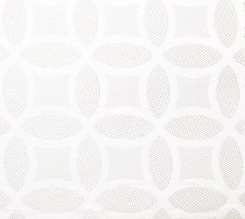 Портьерная ткань двухсторонний жаккард Любава белый