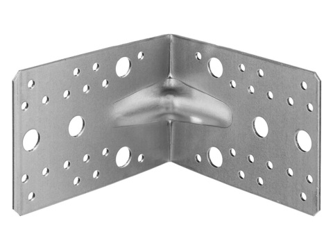 Уголок крепежный усиленный УКУ-2.0, 35х90х90 х 2мм, ЗУБР