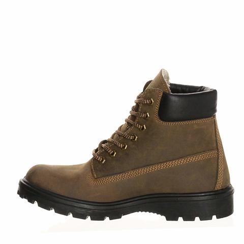 Ботинки кожаные утепленные DM DAKOTA B-6