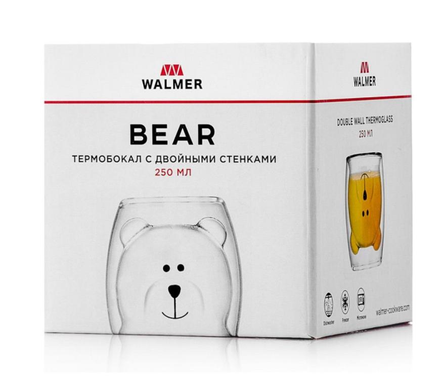 Термобокал Walmer Bear, 0,25л