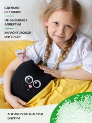 Мягкая игрушка-подушка Gekoko «Кот Уголек» 3