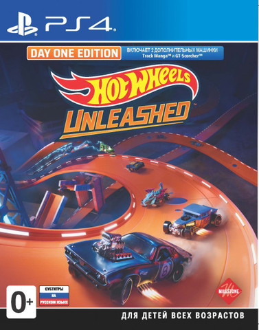 Hot Wheels Unleashed. Day One Edition (PS4, русские субтитры)