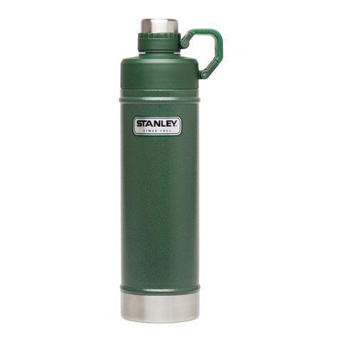 Термобутылка Stanley Classic (0,75 литра), зеленая