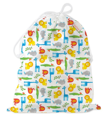 Водонепроницаемая сумка со шнур, Zoo, 45x35 cm