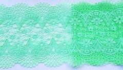 Эластичное кружево, ОПТ, светло-салатовый (Арт.: ЕК-2163), 18мм, м
