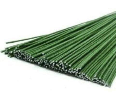 Герберная проволока зеленая 1,6мм 1кг
