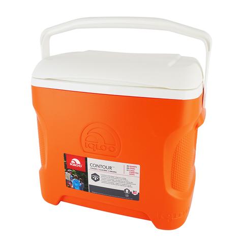 Изотермический контейнер (термобокс) Igloo Contour 30 (28 л.), оранжевый