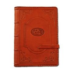Ежедневник кожаный в стиле 19 века модель 13