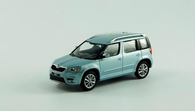 Коллекционная модель Skoda new Yeti 2015