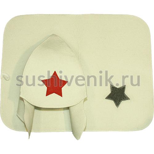 Комплект Буденовка (белый)