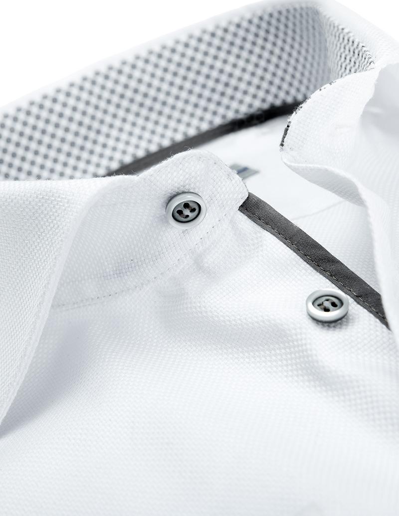 Рубашка Ledub tailored fit 0136394-910-240-270-TF-White