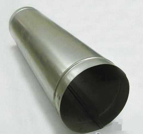 Воздуховод прямошовный D  80 оцинкованная сталь